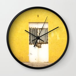 Amarillo Door #2 Tala, MX Wall Clock