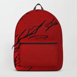 Glitershok (Crimson) Backpack