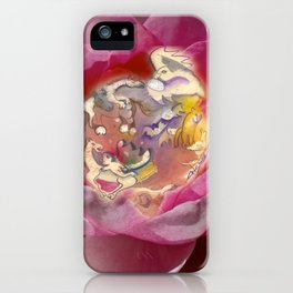 Fairy Lily iPhone Case