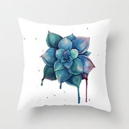Succulent I Throw Pillow