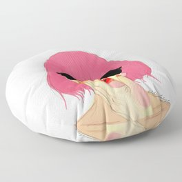 Pink girl Floor Pillow
