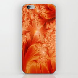 Fractal The Heat of the Sun iPhone Skin