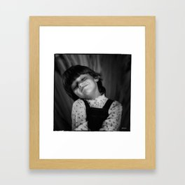 You are so funny Framed Art Print