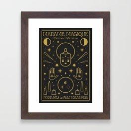 Madame Magique Framed Art Print