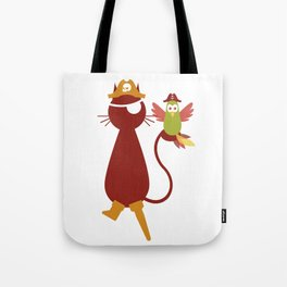 Whiskerbeard, the Pirate Cat Tote Bag