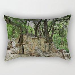 Saint Theodora Chapel in Arcadia, Peloponnese, Greece. Rectangular Pillow