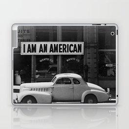 I Am An American Photo Dorothea Lange Laptop & iPad Skin