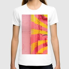 Pink and Yellow T-shirt
