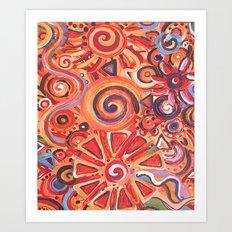 Solar Energy  Art Print