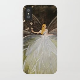 Golden Butterfly Fairy iPhone Case