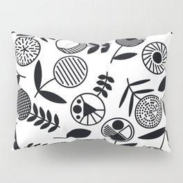 Geometric Florals Pillow Sham