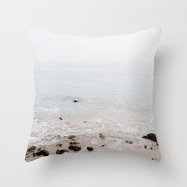 Rocky Shores Throw Pillow