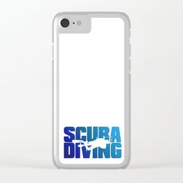 Scuba Diving Clear iPhone Case