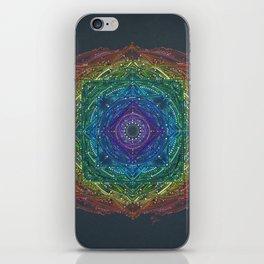 Colorful Chakra Mandala iPhone Skin