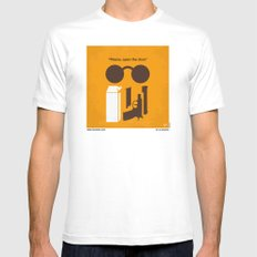 No239 My LEON minimal movie poster Mens Fitted Tee White MEDIUM