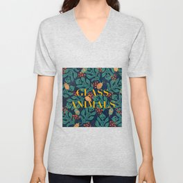 Glass Animals  Unisex V-Neck
