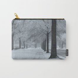 When It Snowed Carry-All Pouch