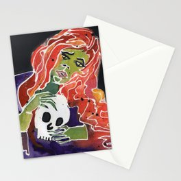 GHOUL IN LOVE Stationery Cards
