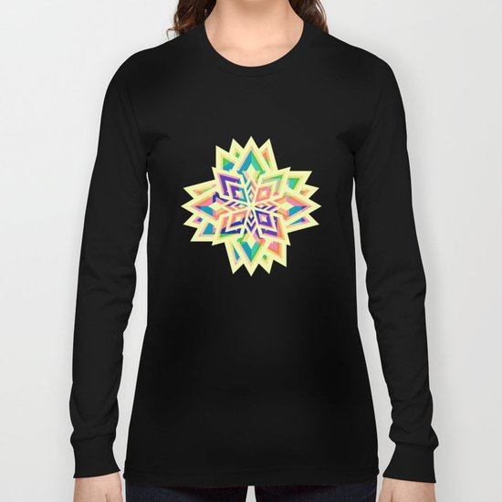 Decorative floral pattern for Christmas Long Sleeve T-shirt