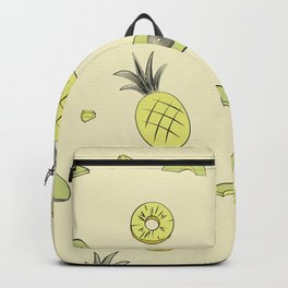 Pineapple and Avocado Backpack