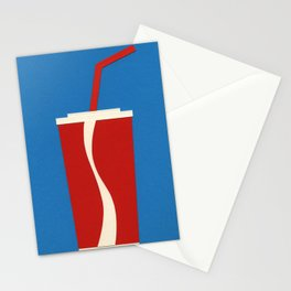 Cup Of Coke Stationery Cards