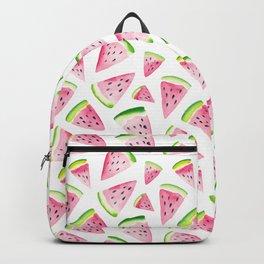 Watercolor Watermelon Pattern Backpack