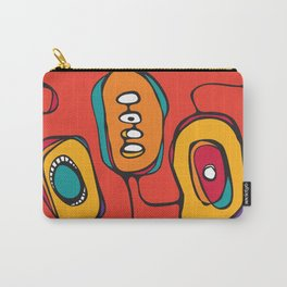 Scribbles 03 in Color Carry-All Pouch