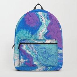 Lavender Blue Backpack