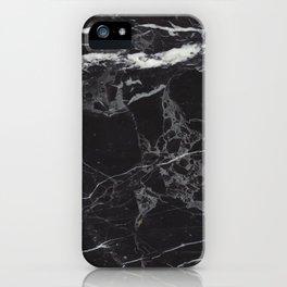 Black & White Marble iPhone Case