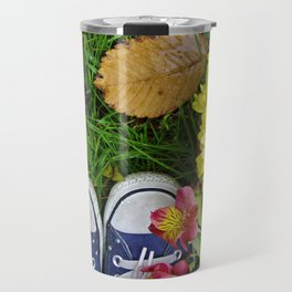 An All Star in the Grass Travel Mug