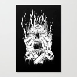Melt Canvas Print