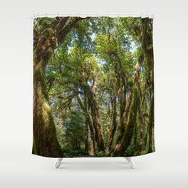 Hoh Rainforest Shower Curtain