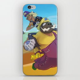 The Junkboys Take the Mushroom Kingdom iPhone Skin
