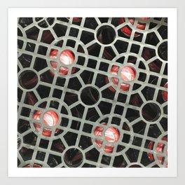 Solar System. Fashion Textures Art Print