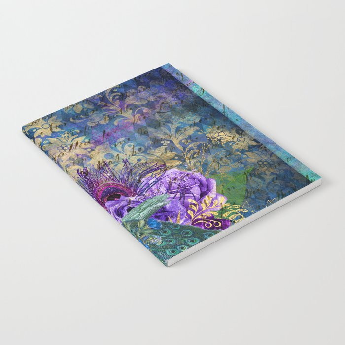 Feather Peacock 20 Notebook