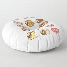 Puglie Food Collection 1 Floor Pillow
