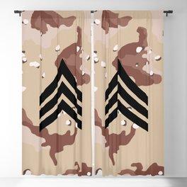 Sergeant (Desert Camo) Blackout Curtain