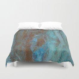 Patina Bronze rustic decor Duvet Cover