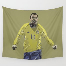 Dare to Zlatan Wall Tapestry