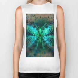 Butterfly Abstract G541 Biker Tank