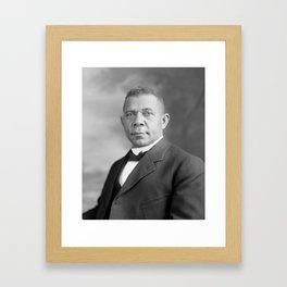 Booker T. Washington Framed Art Print