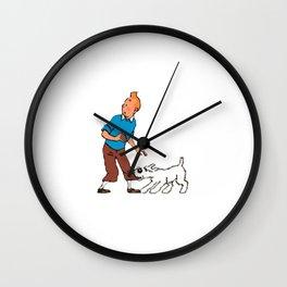 The Adventure of Tintin Wall Clock