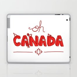 Oh Canada Day (Handlettered) Laptop & iPad Skin