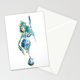 Water in the sky Stationery Cards