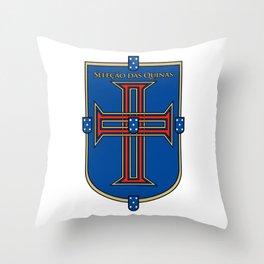 Portugal Seleção das Quinas (Team of Shields) ~Group B~ Throw Pillow