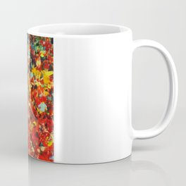 END OF THE RAINBOW - Bold Multicolor Abstract Colorful Nature Inspired Sunrise Sunset Ocean Theme Coffee Mug