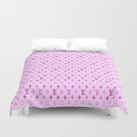 lv Duvet Covers featuring Pink Love by LuxuryLivingNYC