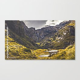 Routeburn Track, Fiordland, South Island, New Zealand Canvas Print