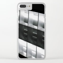 Leigh aight Clear iPhone Case