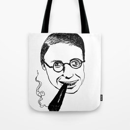 Jean-Paul Sartre Tote Bag